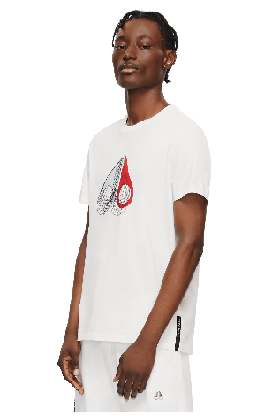Wireframe 3D Tee M11MT738 White Front