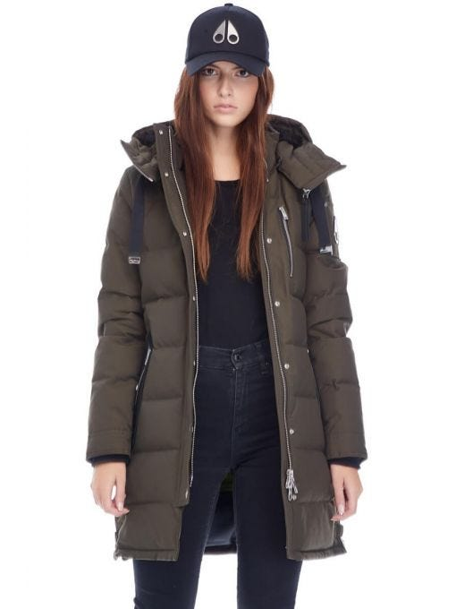 LADIES GOURMAND PARKA