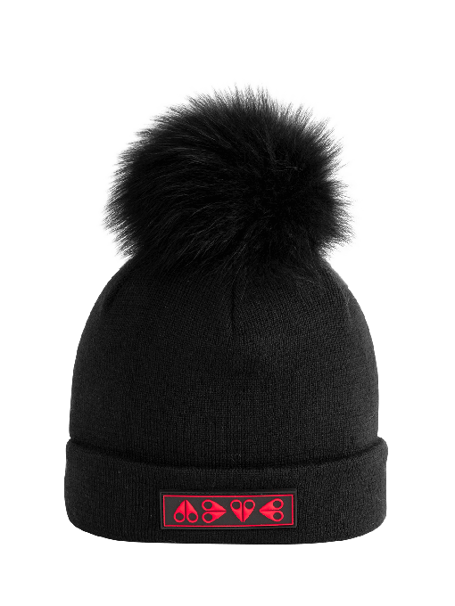 KIDS LOGO POMPOM TOQUE