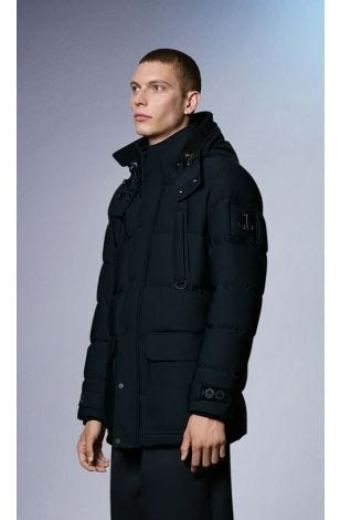 Valleyfield Jacket M31MJ152 Black Front Category