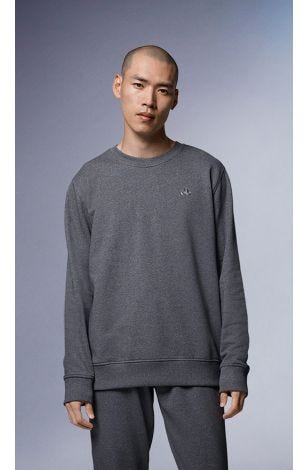Leland Pullover M31MS605 White Small