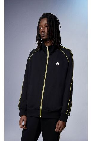 Stereogram Zip-Up M31MS620 Black Small