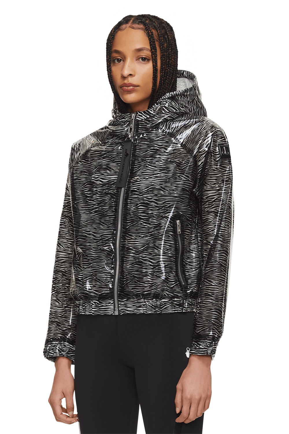 Glittermouth Jacket M11LJ144 White Front