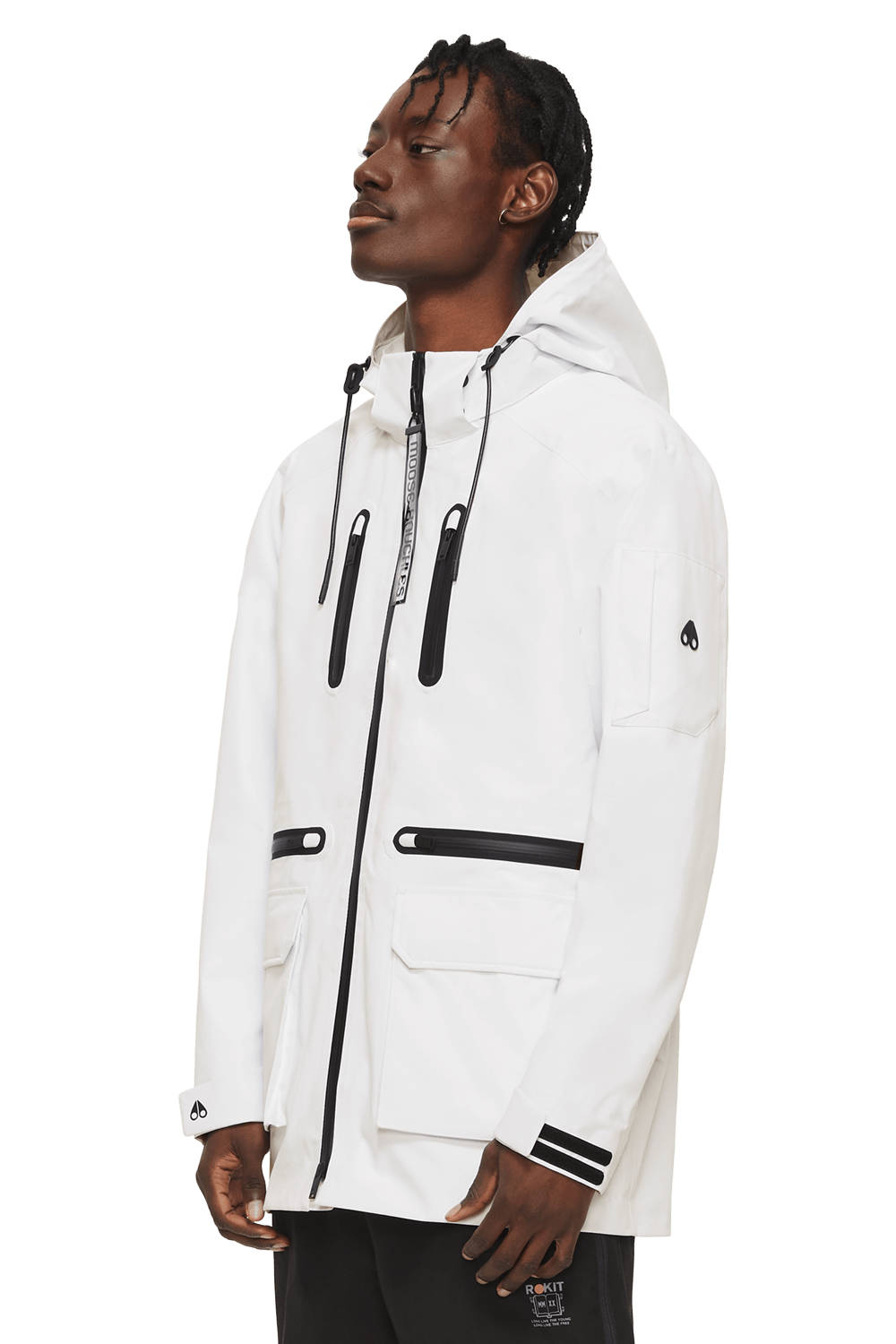 Knuckle Puck Jacket M11MJ102 White Front
