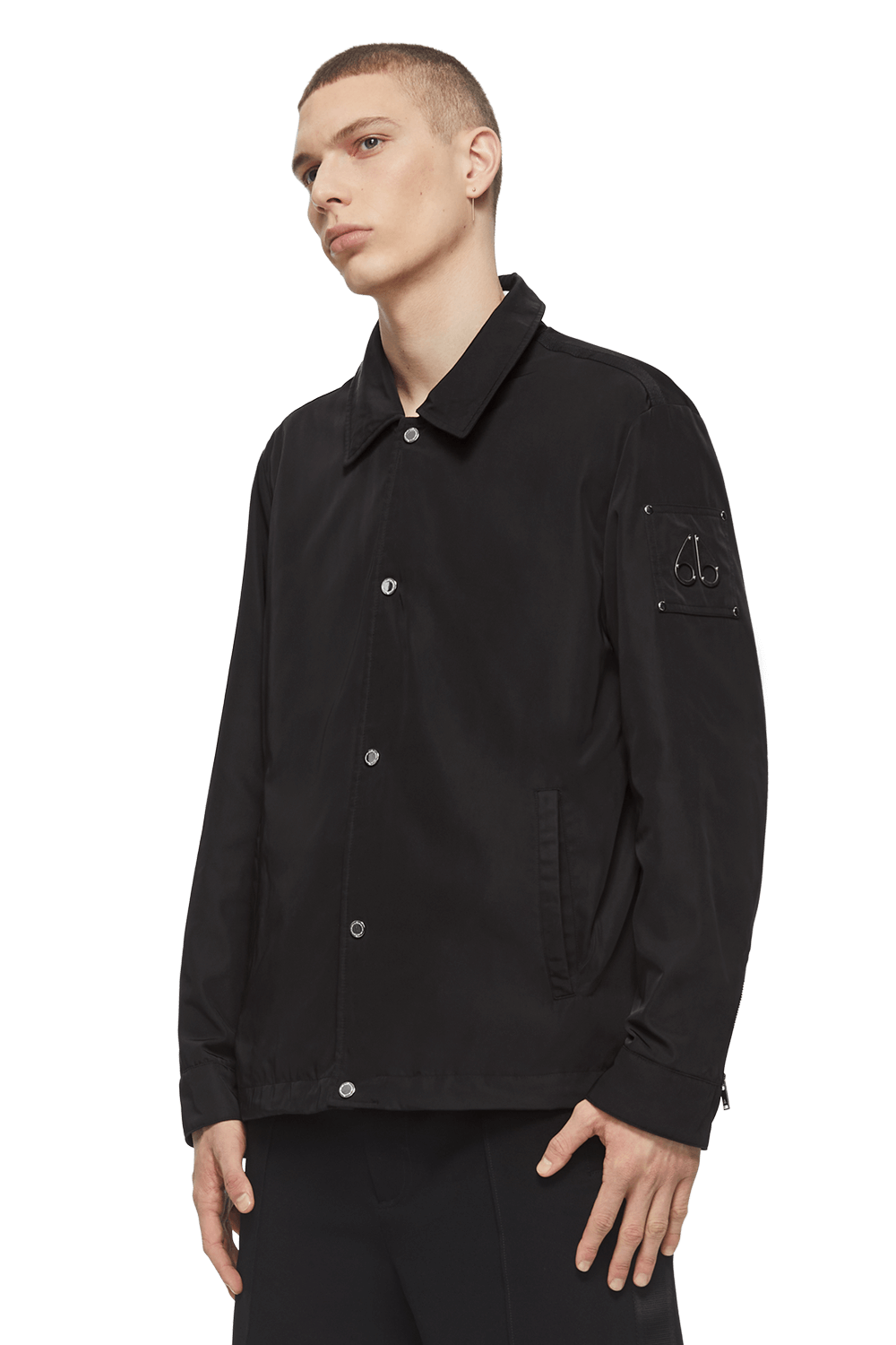 Latterman Jacket M11MJ133 Black Front