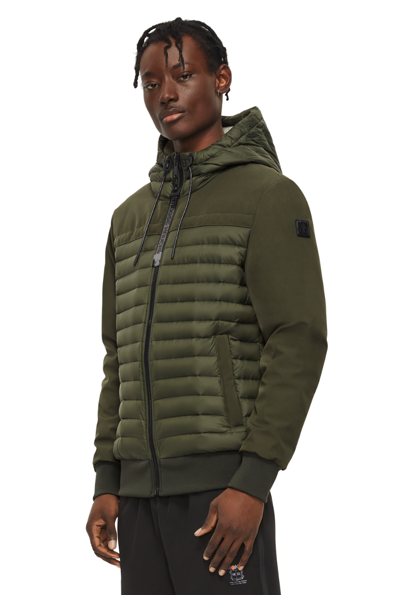 Broadside Jacket M11MJ145 Military Green Front