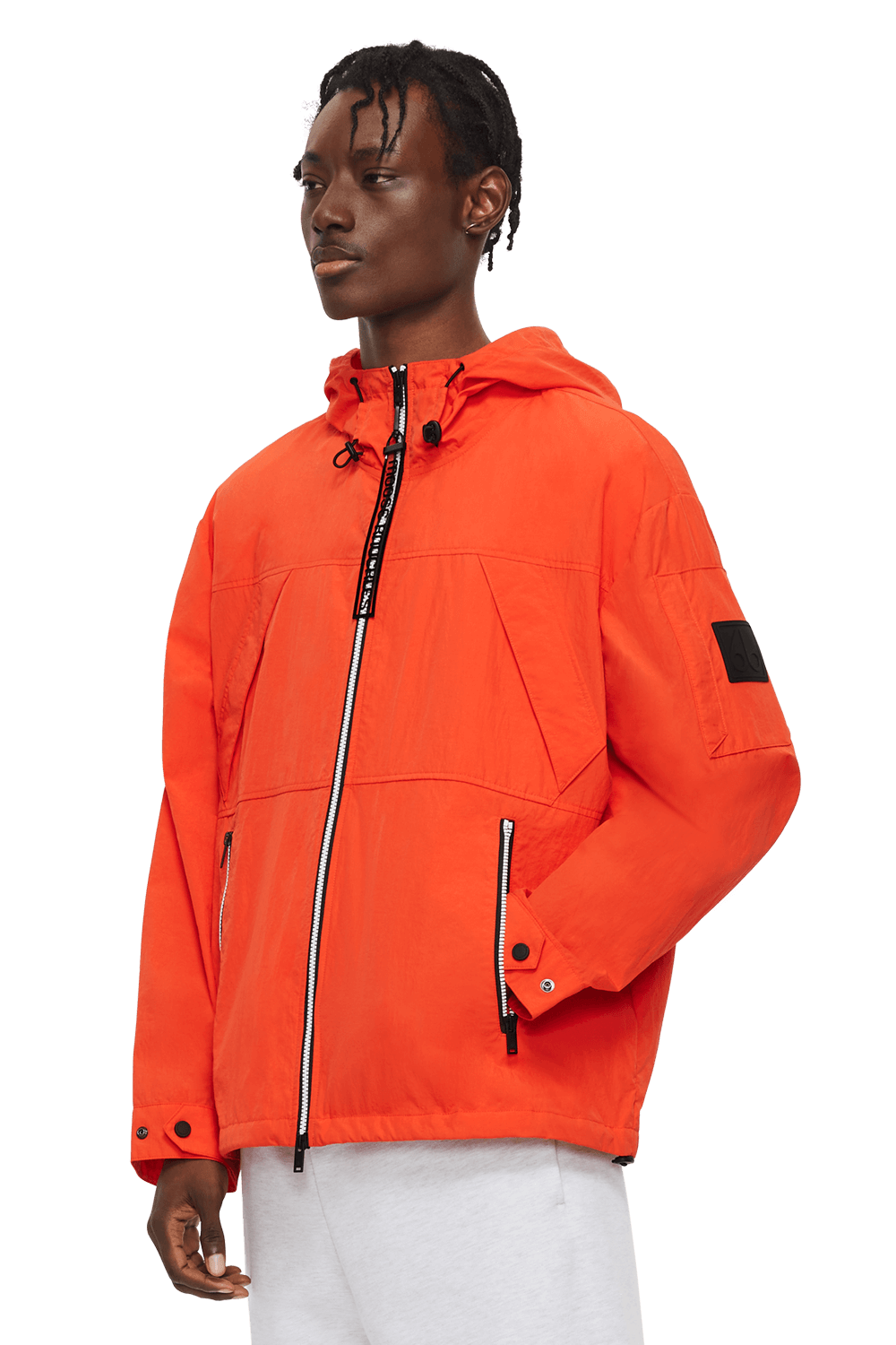 Stereos Anorak M11MJ147 Safety Orange Front