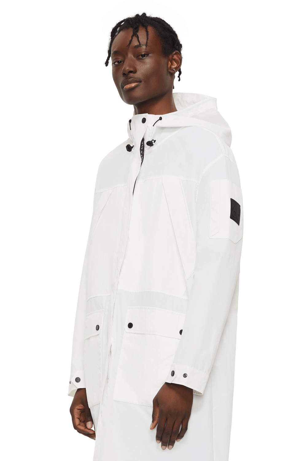 Rookie Anorak M11MP217 White Front