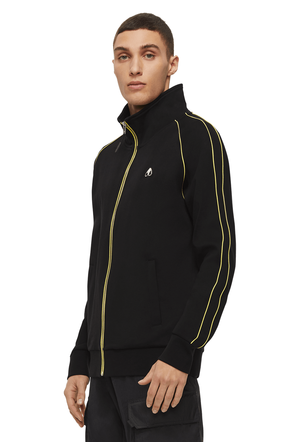 Stereogram Zip Up M11MS620 Black Front