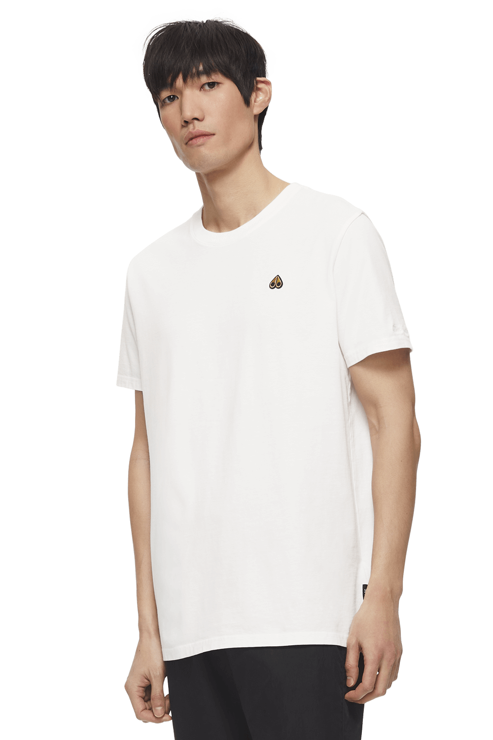 Classic Logo Tee M11MT727 White Front