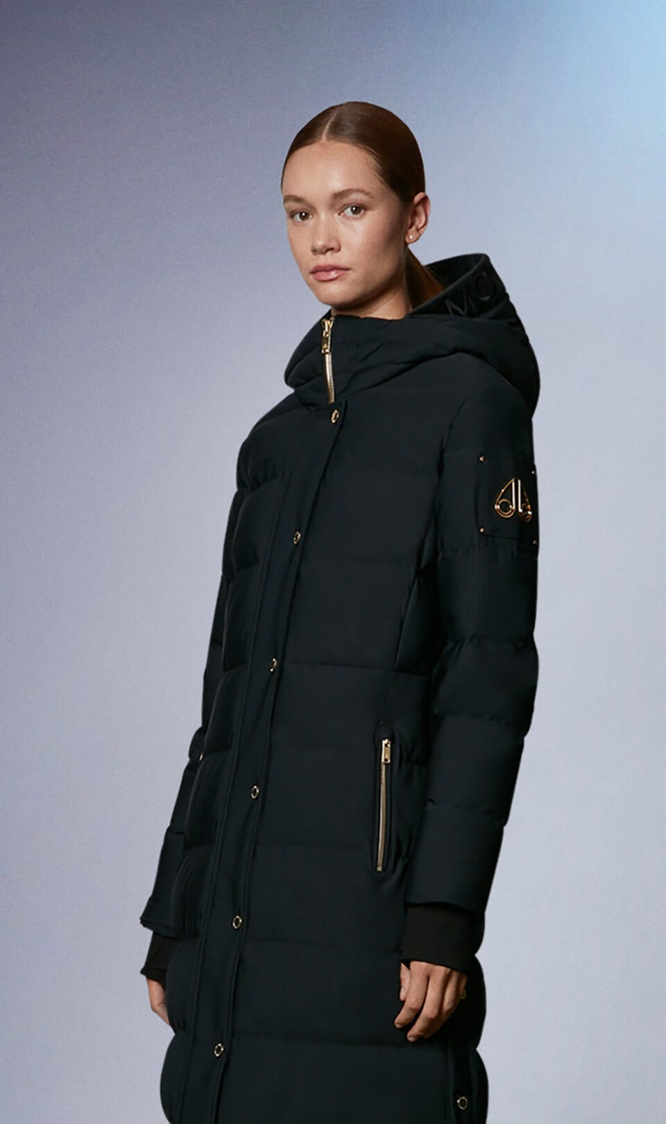 Willston Parka M31LP204G Black Front Category