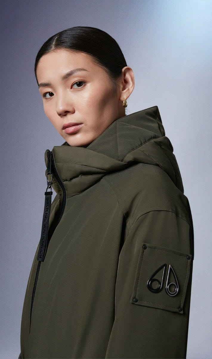 Freeman Parka M31LP218 Military Green Front Category