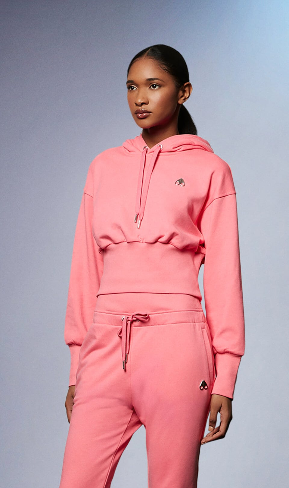 Marte Hoodie M31LS637 Arctic Rose Front Category