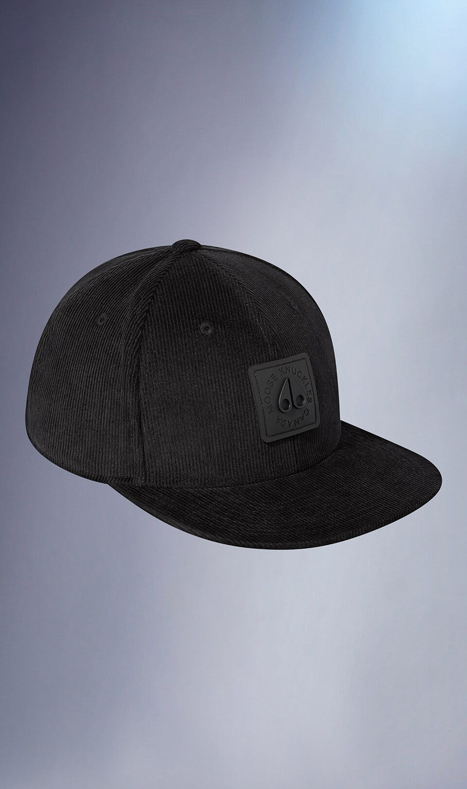 Malcolm Cap M31MA516 Black Front Category