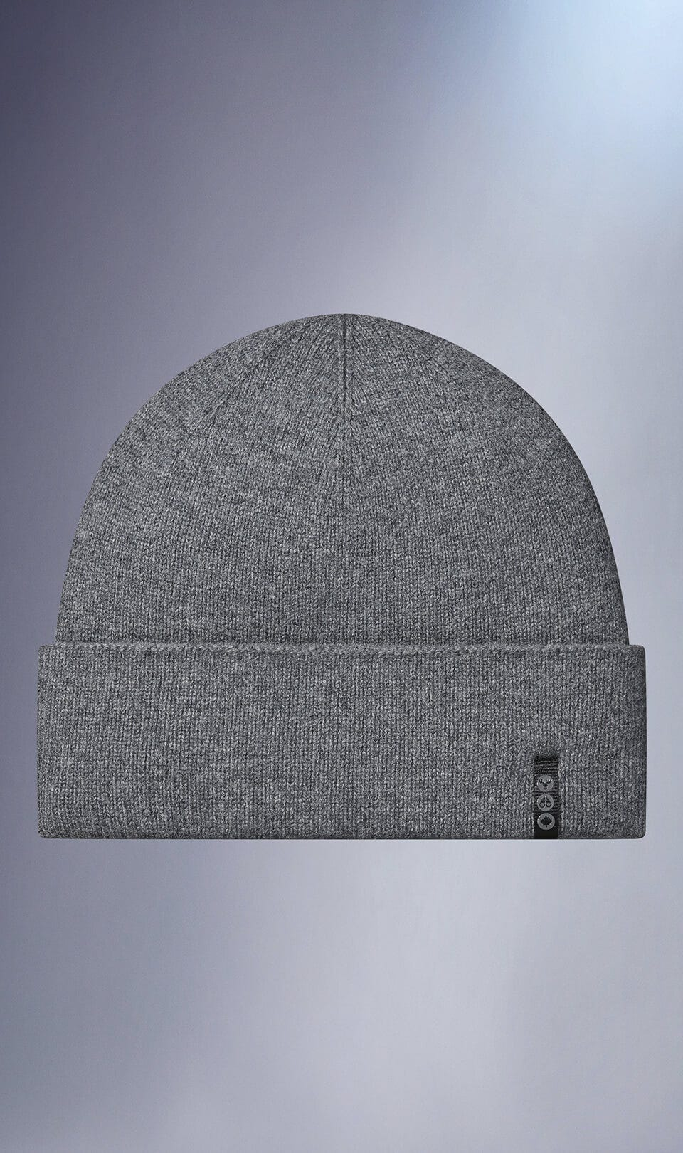 Trail River Beanie M31MA517 Charcoal Melange Front Category