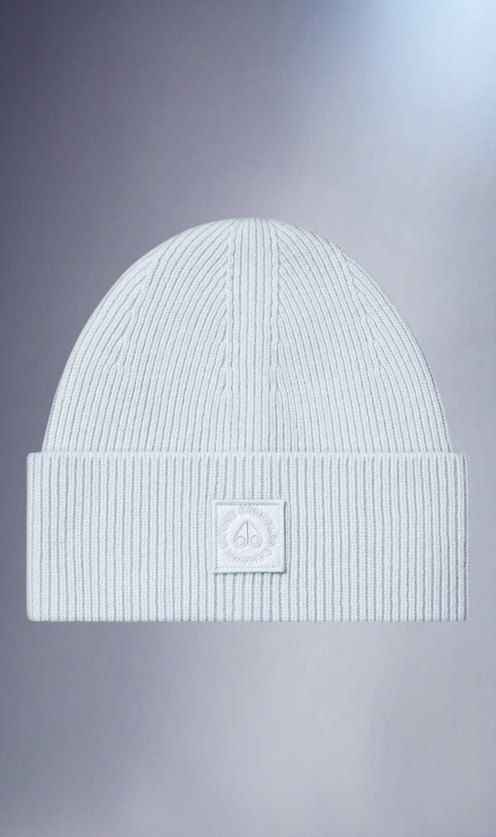 Snowbank Beanie M31MA525 Charcoal Melange Front Category