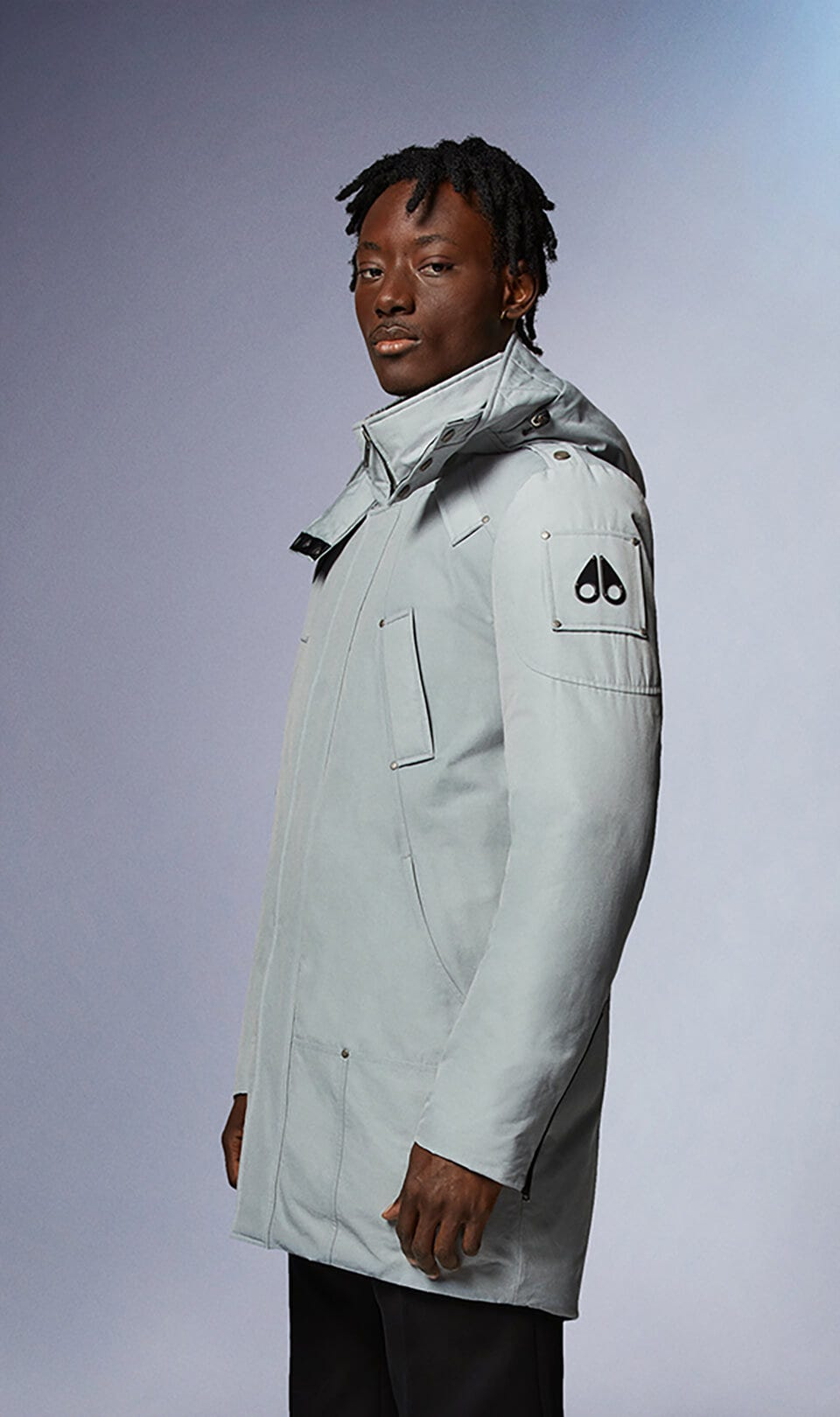 Waterton Parka M31MP221N Iceberg Front Category