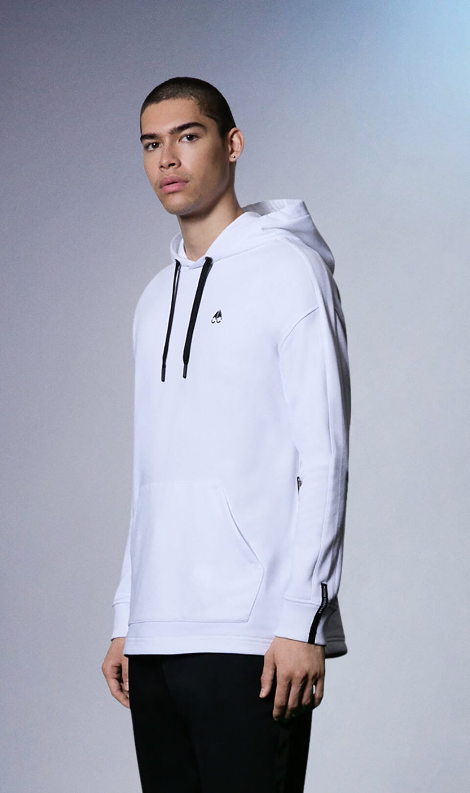 Thordason Hoodie M31MS608 White Front Category