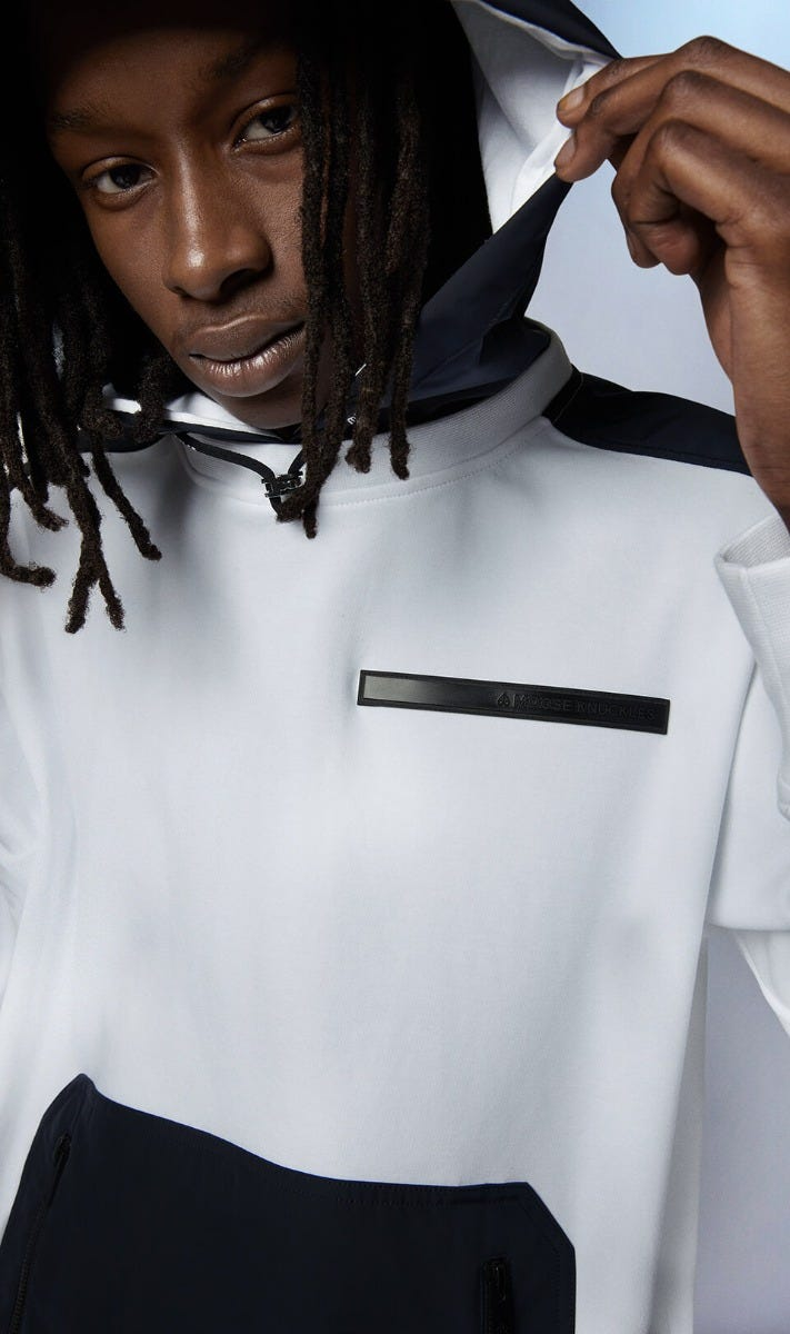 Waniaday Hoodie M31MS615 White Front Category