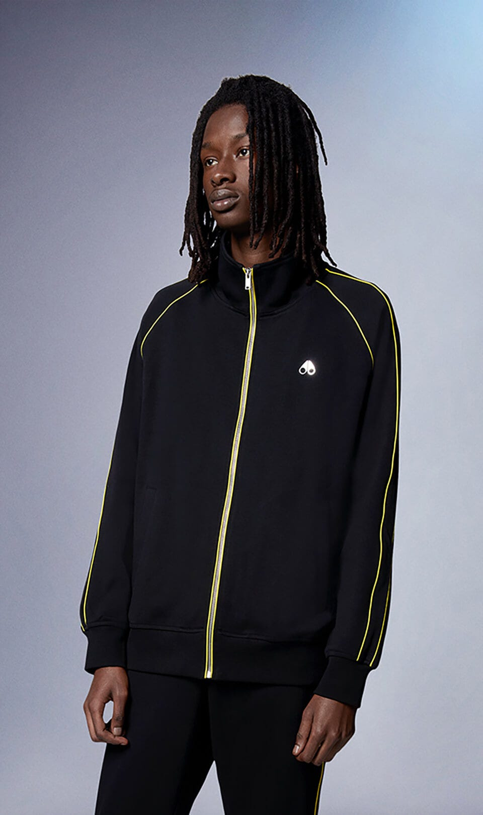 Stereogram Zip-Up M31MS620 Black Front Category