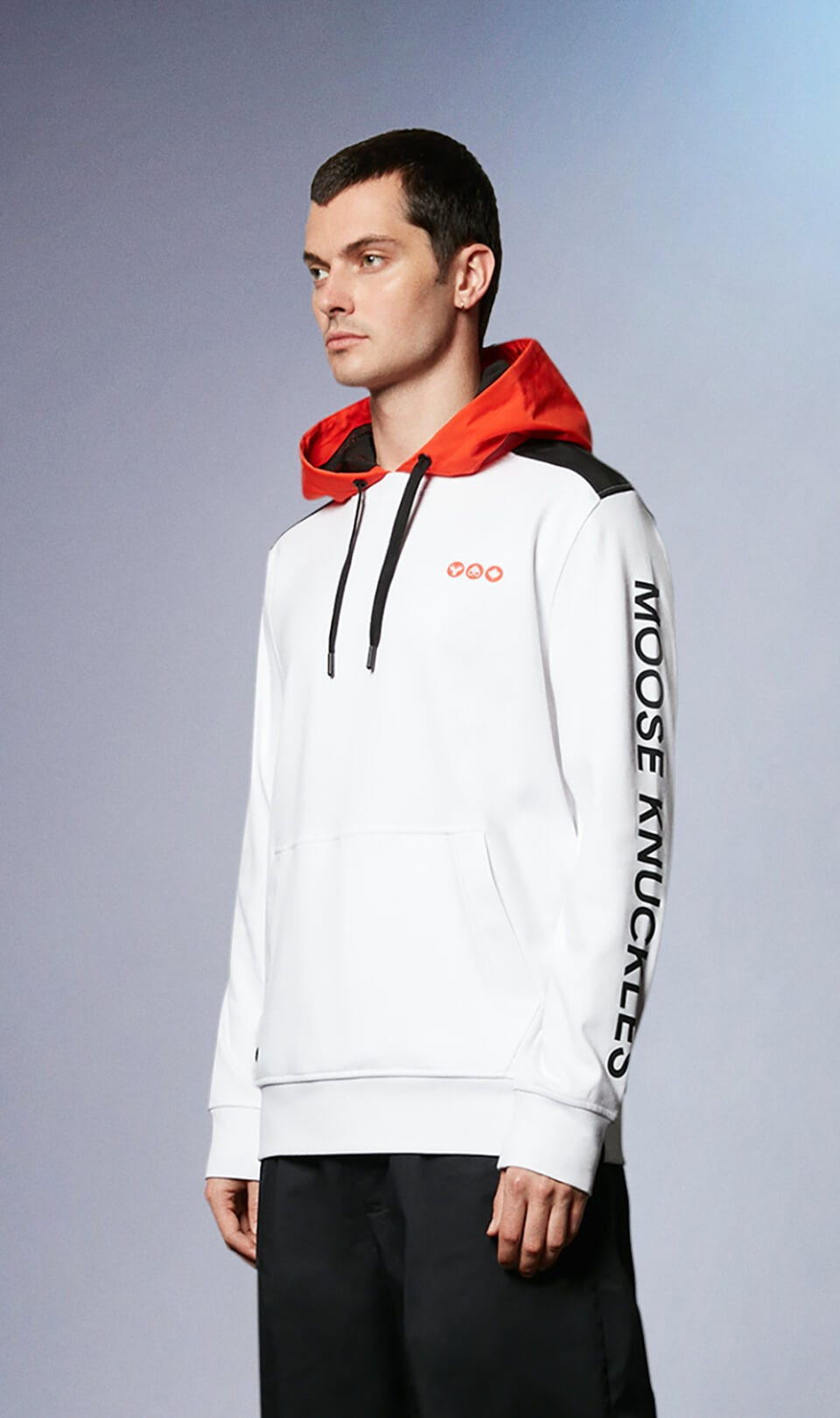 Voisey Hoodie M31MS644 White Front Category