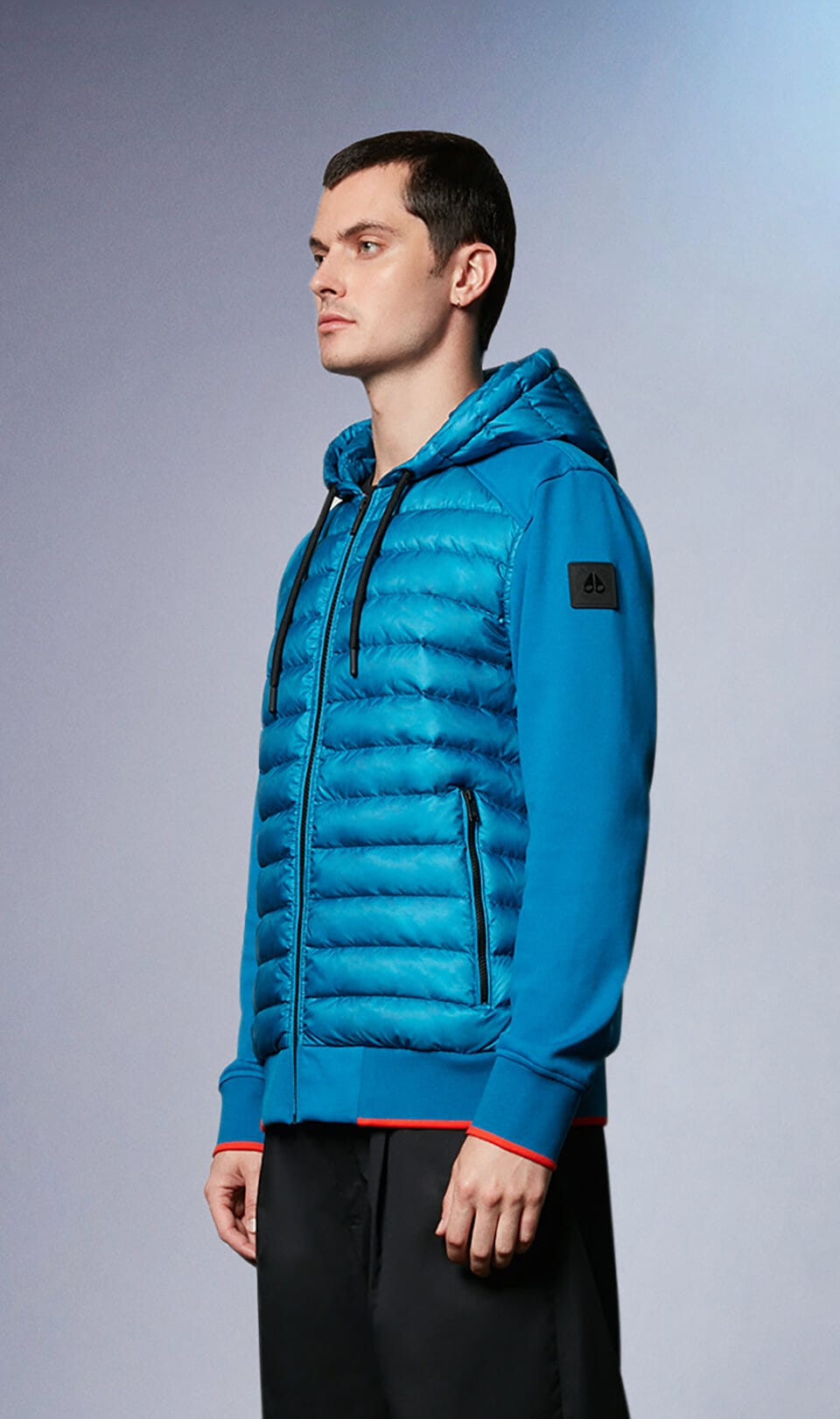 Soapstone Zip-Up M31MS654 Brit Blue Front Category