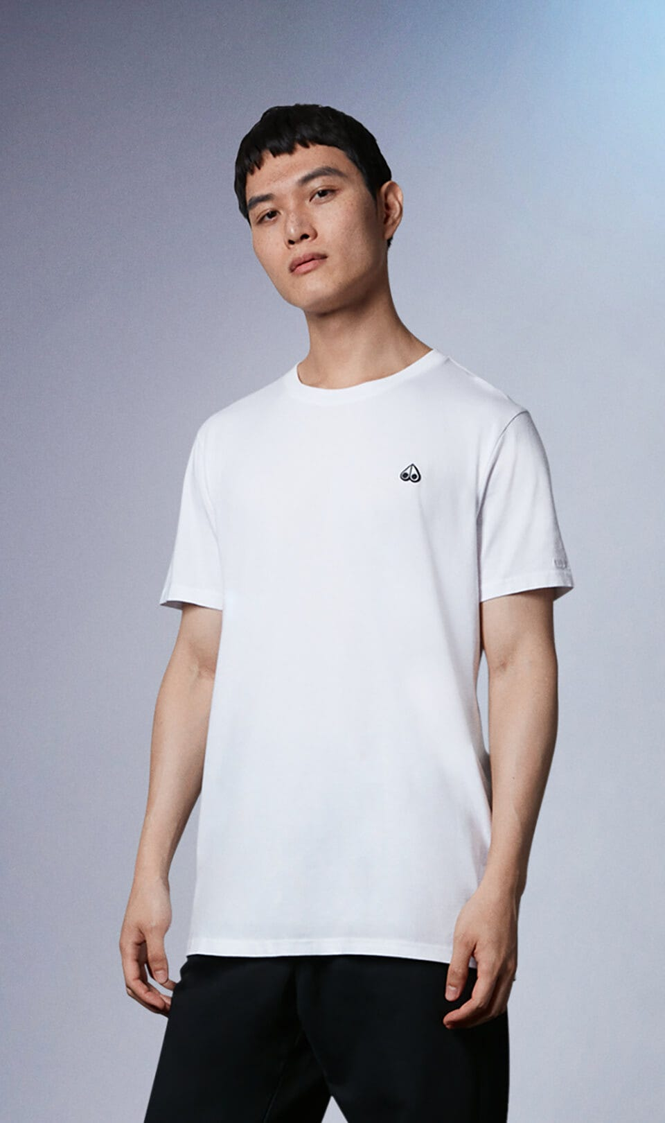 Classic Logo Tee M31MT700 White Front Category