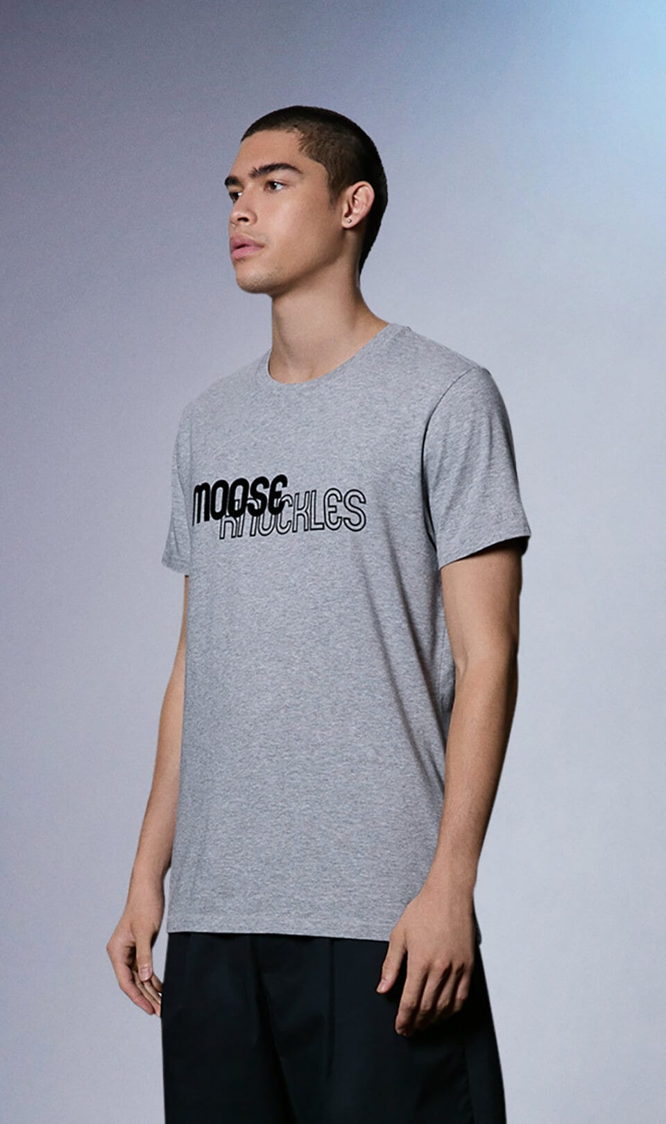 Seal Tee M31MT703 Charcoal Melange Front Category