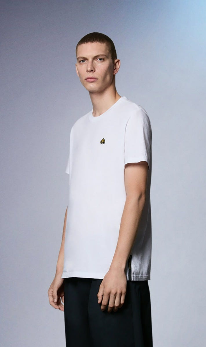 Johnstons Tee M31MT711G White Front Category