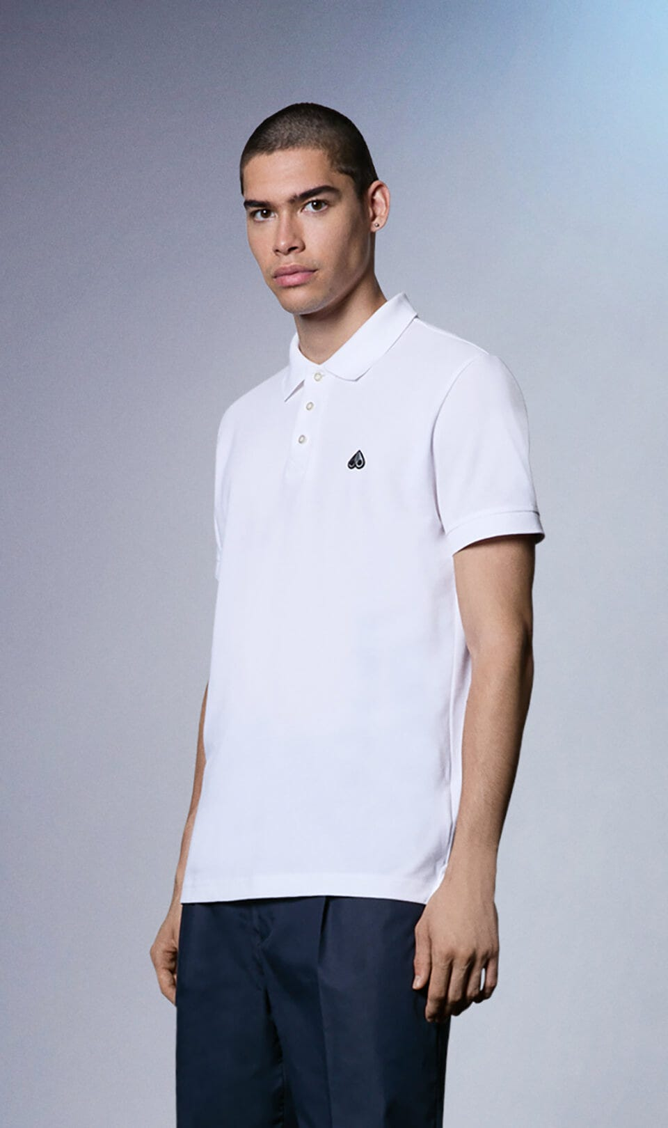 Classic Polo M31MT712 White Front Category