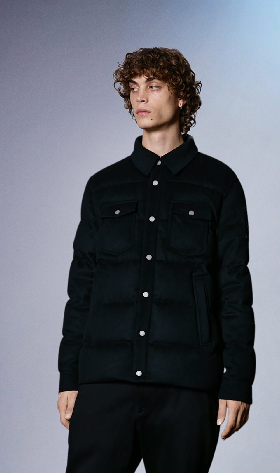 Westmore Jacket M31MW408 Black Front Category