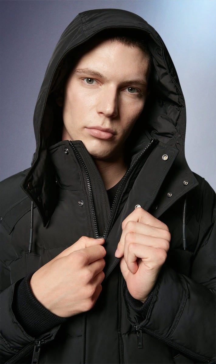 Miscou Island Parka M39MP210N Black Front Category